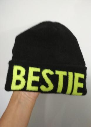 Отличная шапка от h&m, безразмерная