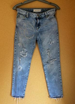 Рваные джинсы river island xs