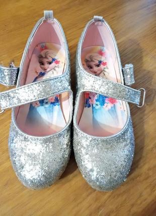 Туфельки h&m для девочек на каблучку