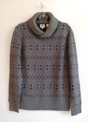 Мужской свитер levi's.оригинал.новый.