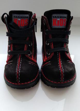 Шкіряні черевики ботинки