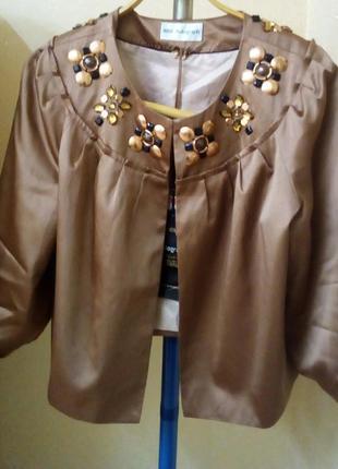 Кардиган пиджак  ветровка куртка жакет накидка без пуговиц mark&spenser
