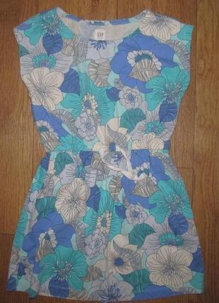 Фирменное платье gap девочке 6-7 лет