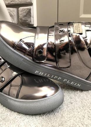 Зеркальные мега блестящие кроссовки