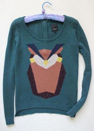 Милый свитер с совой ichi