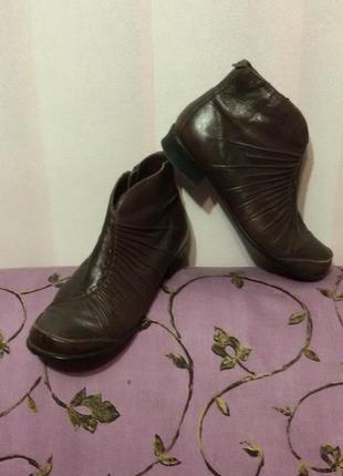 """Ботинки кожаные  германия """"marc"""" ст.25 см"""