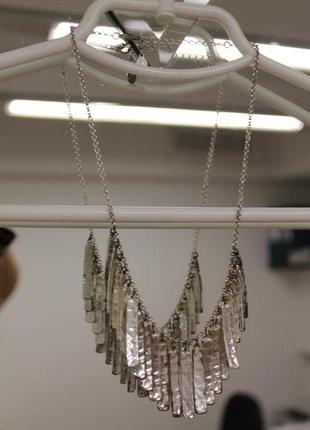 Ожерелье с подвесками из металла accessorize