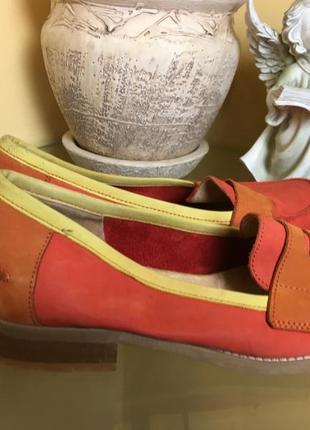 Мокасины туфли   san marina размер 36,