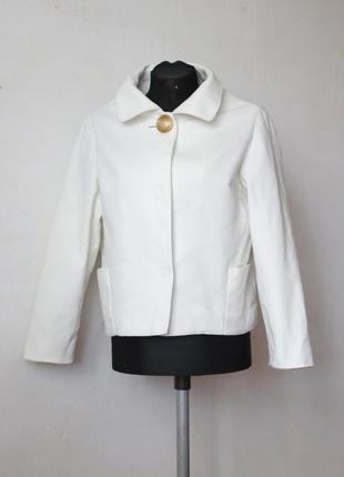 Куртка укороченная 100% хлопок mng mango