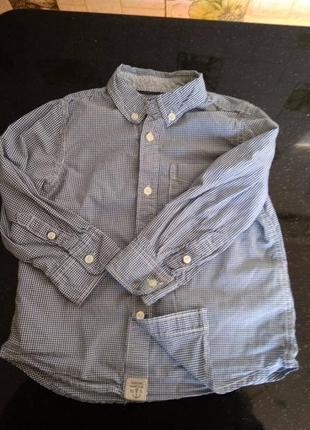 Рубашка h&m 2-3 года 98 см