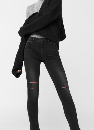 Шикарные рваные джинсы от mango, 40р, испания, оригинал