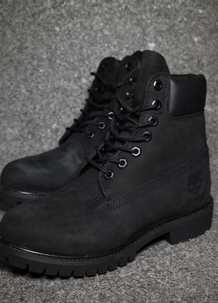 Timberland boots black зимние женские ботинки 36-40 размер