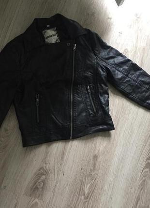 Куртка косуха кожанка new look