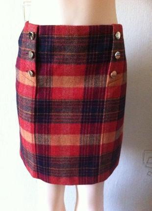 Новая юбка из шерсти от hobbs