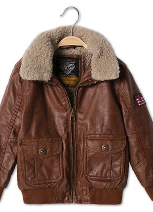 Куртка для мальчика с&а, не кожа