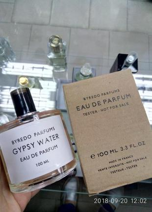 Byredo gypsy water 100ml tester