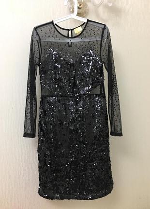 Вечернее, коктейльное платье h&m