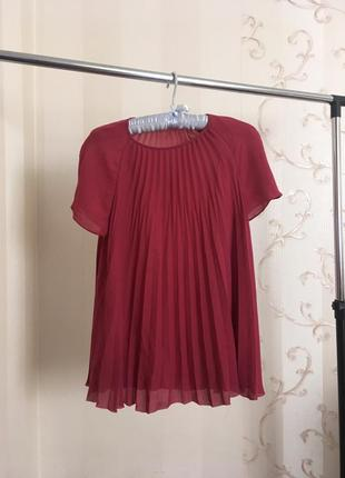 Винная блуза от other stories