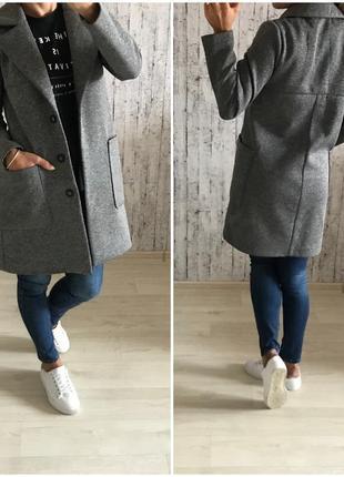 Пальто бойфренд reserved размер 34