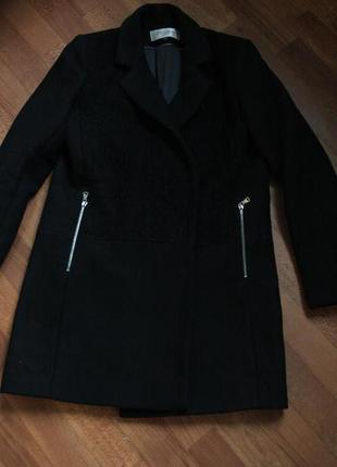 Цена снижена! базовое пальто бойфренд exclusive р.38 турция