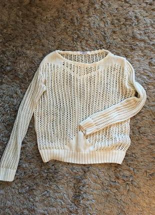 Вязаный свитерок ,тонкий вязаный свитер