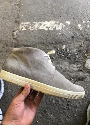 Ecco ботинки замшевые оригинал