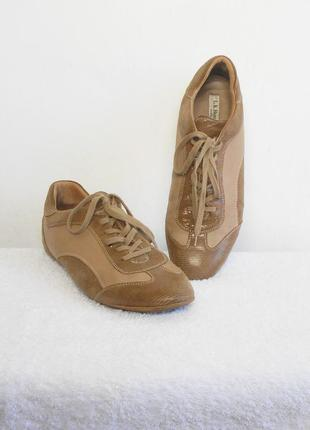 Кожаные спортивные городские кроссовки l.k.bennett