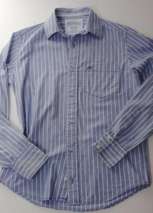 Полосатая молодёжная рубашка aeropostale