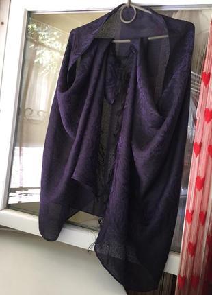 Елегантна шаль шарф 70%пашміна,30%шовк!)