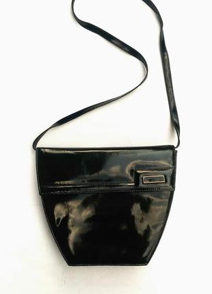 Bally сумка кожаная, натуральная кожа, клатч