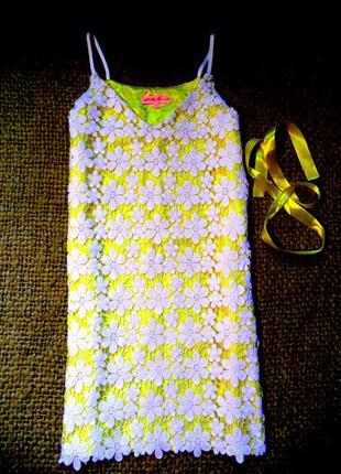 Oh my love кружевное платье shift dress для роскошной леди.