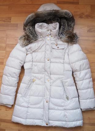 Утепленная зимняя куртка парка laundry by design