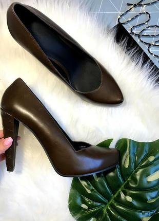 Туфли на каблуке other&stories , кожа