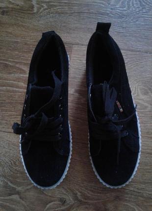 Женские криперы на платформе в стиле puma рианна / слипоны кроссовки ботинки деми