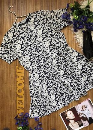 Новое платье с фактурными цветами 20-48