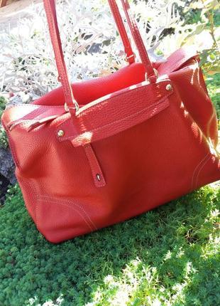 Шикарная сумка шопер от furla оригинал