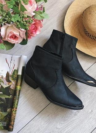 Ботинки новые трендовые ковбойские, козаки, козачки, казаки от new look