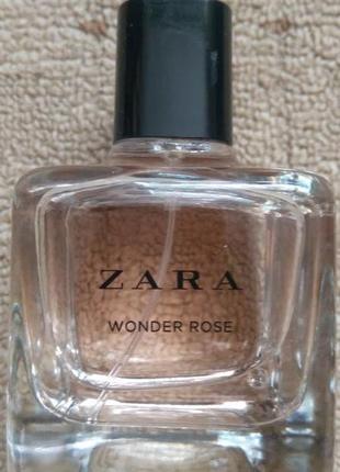 Zara wonder rose 100 ml tester туалетная вода женская оригинал