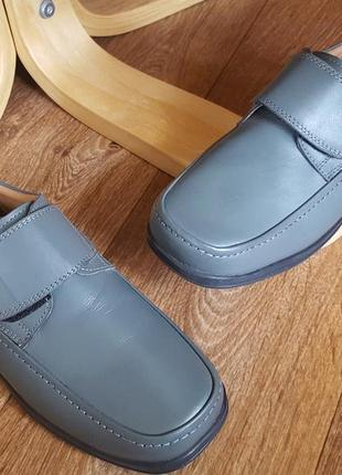 Кожаные комфортные туфли the fitting room англия