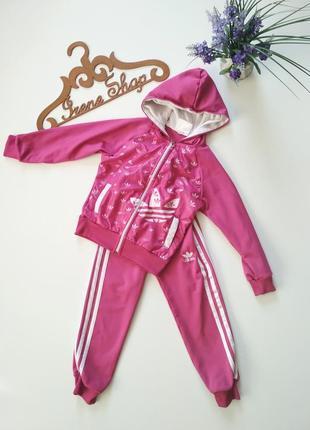 Спортивный костюм adidas, размер 104-110