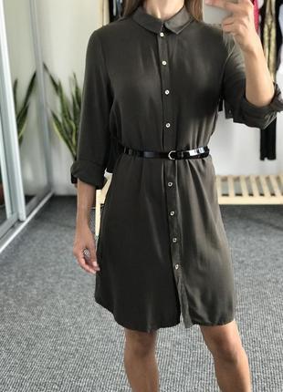 Платье цвета хаки atmosphere 36