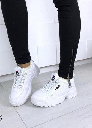 Зимние кроссовки fila оригинал. размеры с 36 по 40