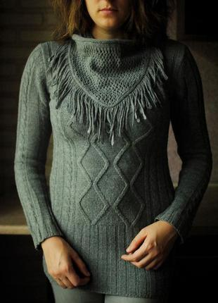 Вязаный свитер george