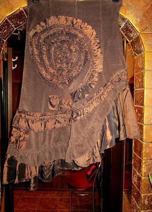 Шикарная винтажная юбка