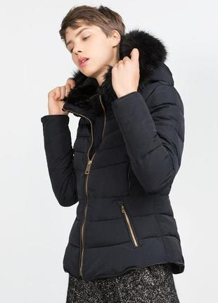 Тёплая куртка zara,p.m