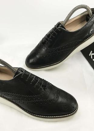 Roberto santi туфли натуральная кожа чёрные