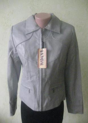 Стильная куртка кожзам