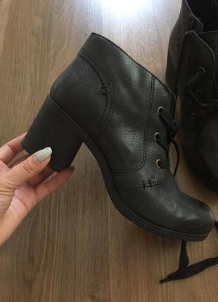 Кожаные сапоги ботинки hotter