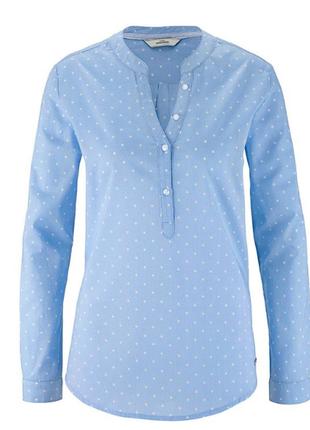 Воздушная женская блуза 48р евро tcm tchibo германия смотрите замеры++