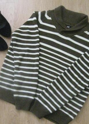 Кофта свитер вязаный брендовый